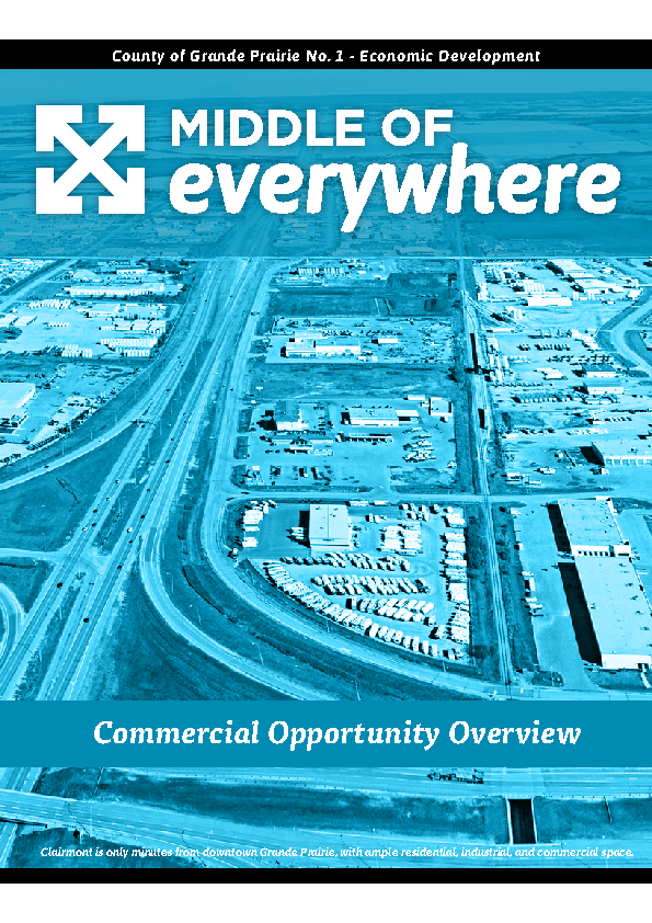 County of Grande Prairie – Commercial Brochure