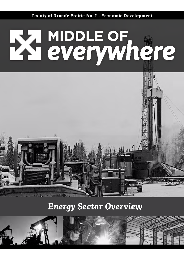 County of Grande Prairie – Energy Brochure