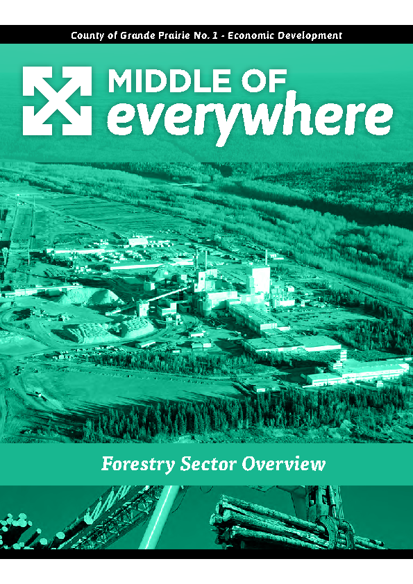 County of Grande Prairie – Forestry Brochure