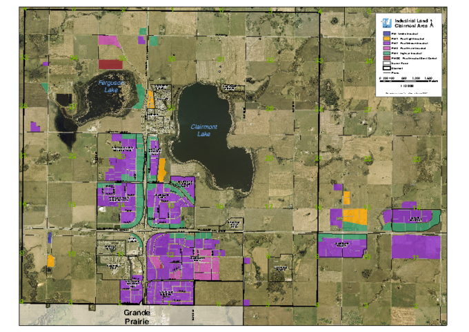 County of Grande Prairie – Land Use Zoning Map – Nov 2015