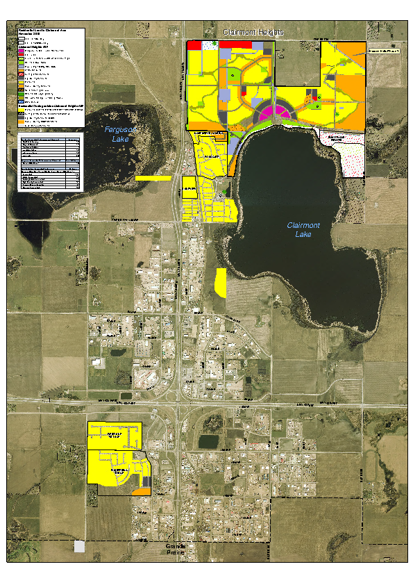County of Grande Prairie – Land Use Zoning Map – Zoned Residential – Nov 2015
