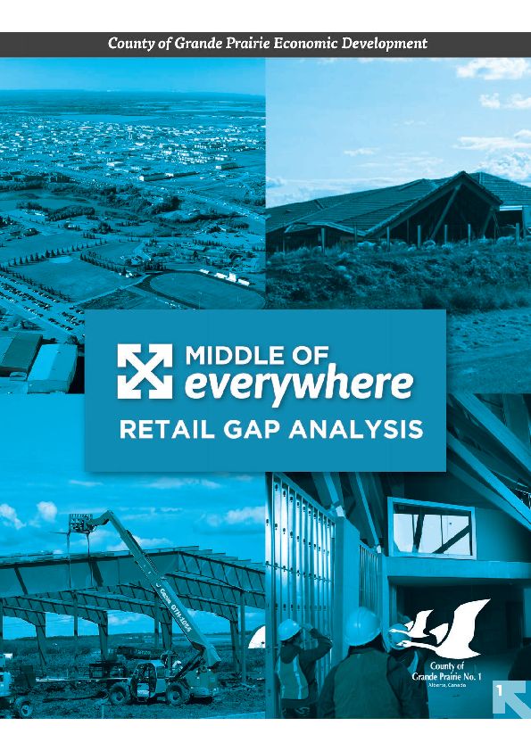 County of Grande Prairie – Retail Gap Analysis Summary of Cushing Terrel