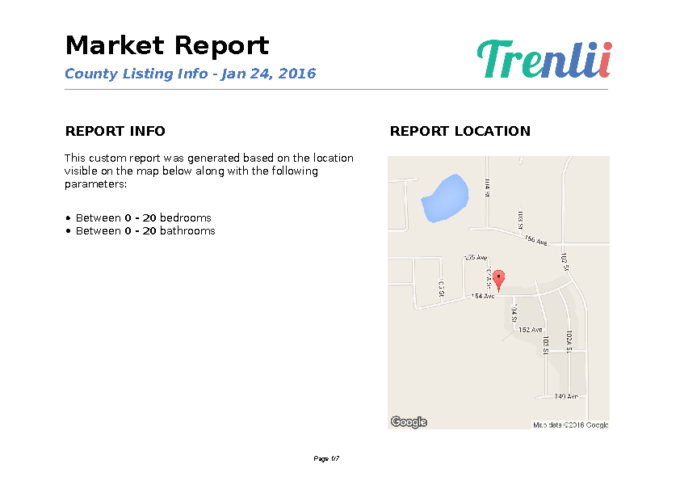 Fuse Realty – Residental Information – County of Grande Prairie – Januasry 22, 2016